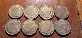 Coleccion de Monedas 1943 -1950