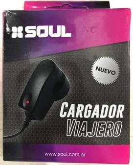 Cargador Tipo c Soul 2000 a. Pared Para Samsung  S20 S20+ S20 Ultra