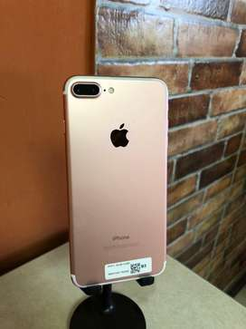Iphone 7 plus rose gold 32gb de vitrina