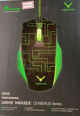 Mouse gamer chiropter