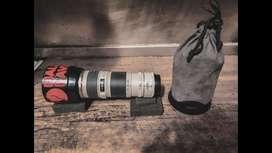 Lente canon 70-200 + extender 1.4