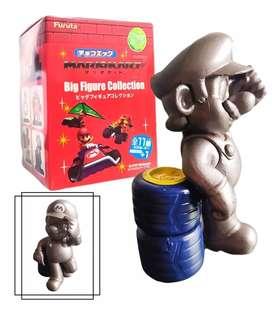 Mario Bros Figura Plateado Colección Juguetes Didácticos