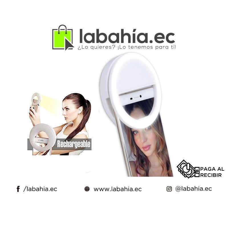 Anillo Selfie Flash Luz Para Maquillaje 0
