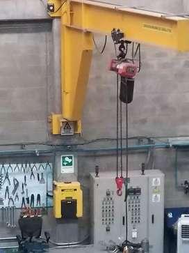Brazo mecánico 2 ton