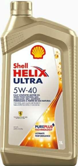 Aceites para carros marca Shell