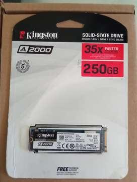 SSD m.2 nvme Kingston 250Gb