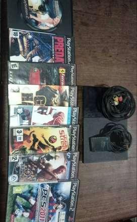 Playstation 2 con Juegos