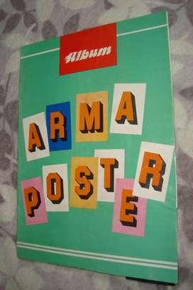Álbum De Figuritas Arma Poster De Los Años 80