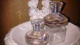 Líquido perfumes Luminata con dije de Swarovski