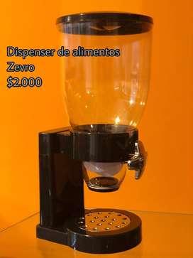 Dispenser de Alimentos Secos - Cereales (Zevro)