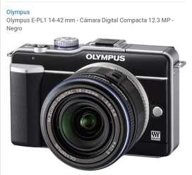 Olympus pen E-PL1 14 42 m-m/ cámara digital compacta 12.3 MP negro