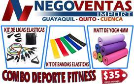 COMBO DEPORTIVO FITNESS MEGA OFERTA EXCLUSIVA DE NEGOVENTAS