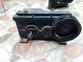 Caja de transmisión para aireador
