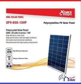 Xmart Panel Solar Policristalino 50w 36 Celdas Vmp 18v