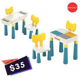 Mesa para niños $35 ( 2 en 1 Para jugar y estudiar)
