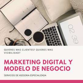 ASESORIA MARKETING DIGITAL Y MODELO DE NEGOCIO