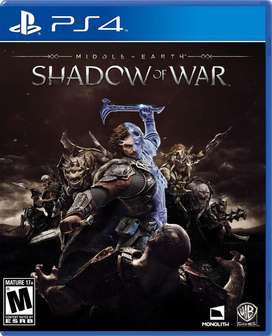 shadow of the war usado