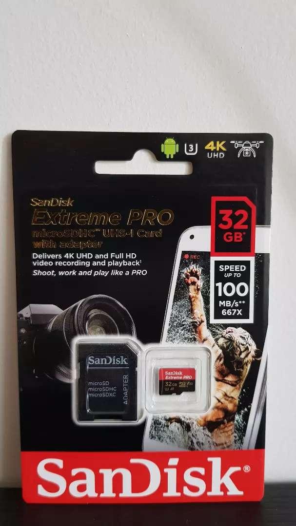 MICROSD SANDISK EXTREME PRO 32GB 0