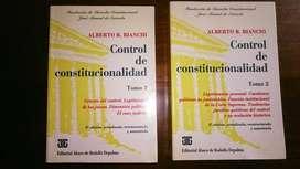 Libro de derecho: Control de constitucionalidad. En buen estado!!