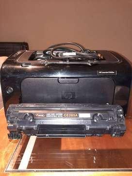 Impresora Hp Laserjet P1102w EXCELENTE ESTADO