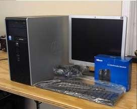Computador de escritorio Core 2 duo 2 gb ram Windows 7