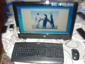 Computadora All In One Hp G1-2009la Impecable No Envio