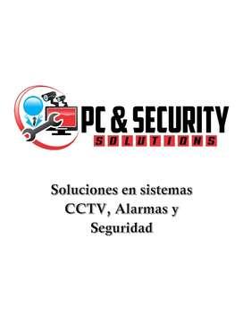 Soluciones en sistemas de seguridad, CCTV, alarmas y más.