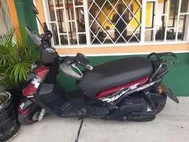 Vendo moto YAMAHA  BWS 125 Modelo 2012