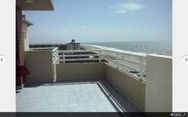 hermoso departamento 2 ambientes c/cochera frente al mar