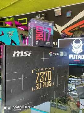 Board y procesador i7 8700 12 hilos