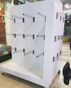 Isla Panel Estantería Mobiliario Exhibidor Mostrario Vitrina