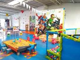 Alquiler Salón de Juegos y Fiestas Infantiles