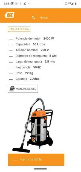 Aspiradora P/ Lavadero Nueva