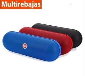 Parlante Potente Beats Bluetooth Radio USB Aux Sd