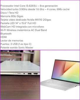 Laptop 8va Generacion
