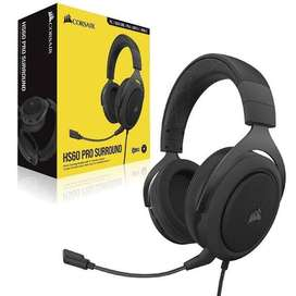 $89 - Audífonos Gamer Corsair HS 60 Pro Surround 7.1 - Originales - Precio de oferta
