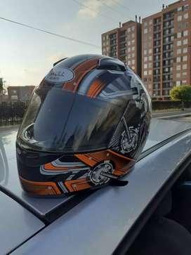 Casco moto casi sin uso