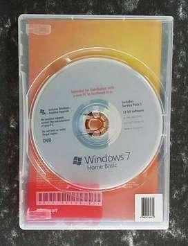 Windows 7 Home Edition OEM Físico sin usar