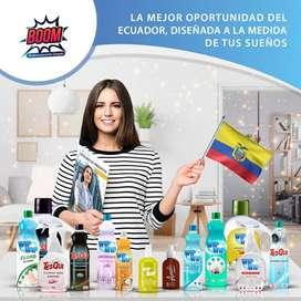 Busco vendedores soci@ DE PRODUCTO DE LIMPIEZA