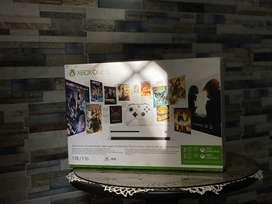 Xbox one s (soporta 4k) de  1TB + 1 control