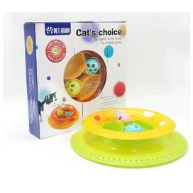 Juguete Para Gatos Galletas Eleccion Interactiva Naranja