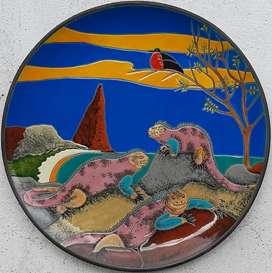 Platones decorativos Galápagos realizados 100% a mano