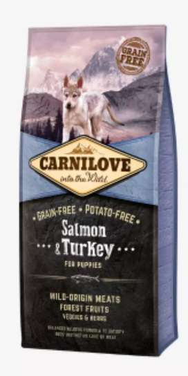 Comida para perros Carnilove de 12 kg salmon & turkey