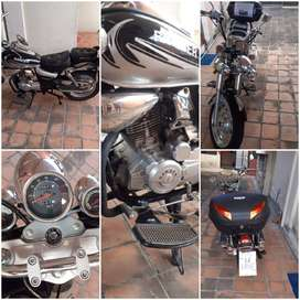 Moto ranger  modelo 200TP - 80, desplazamento200cc - 5 marchas en garantia
