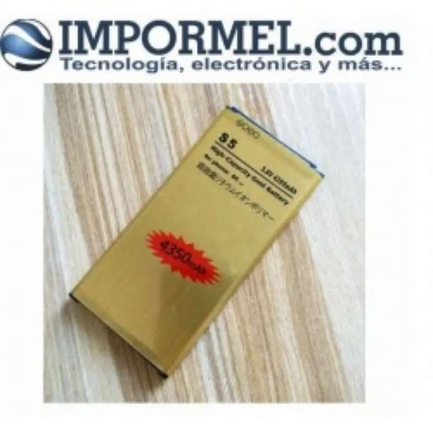 Bateria Extendida Gold Samsung S5 Garantizada G900 0