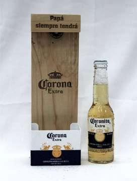 Destapador Corona De Colección En Madera