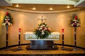 Servicio funerario dueño particular.