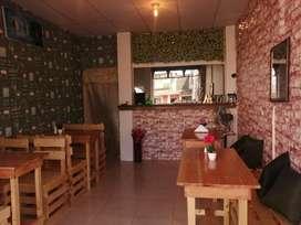 Alquiler o venta de local de comidas - Restaurante Cafetería