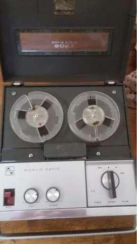Grabador Sony Modelo 900 - Funcionando.