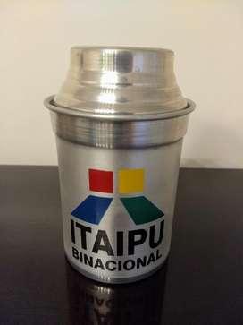 Conservadora para lata. Logo de ITAIPU. Nuevo